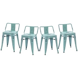 Kidder Short Stool Set of 4 by Williston Forge