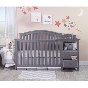 Berkley 4-in-1 Convertible Crib and Changer By Sorelle