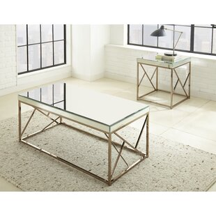 Willa Arlo Interiors Flori 2 Piece Coffee Table Set