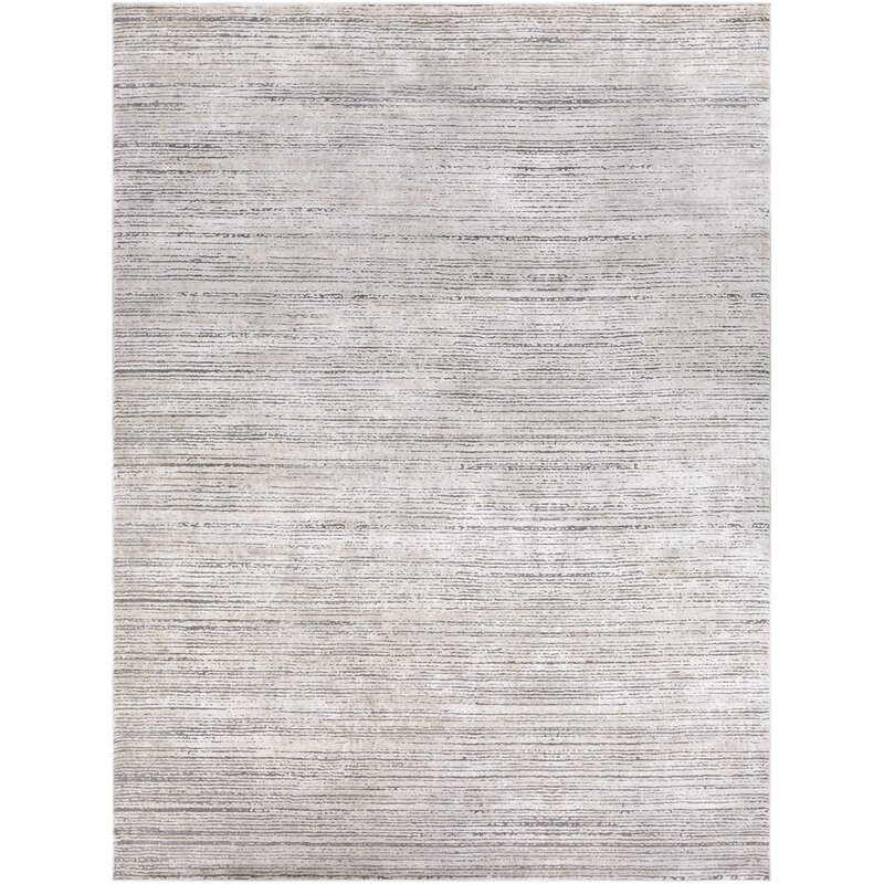 Bridgeton Abstract Gray Sleek Area Rug