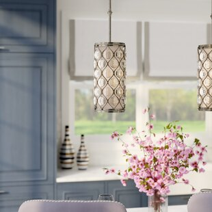 Somona 1-Light Cylinder Pendant by Willa Arlo Interiors
