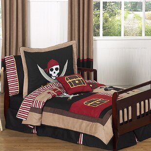 sale retailer cfe19 c1a95 Toddler Pirate Bedding | Wayfair