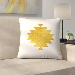 Aztec Tribal Pattern Throw Pillow