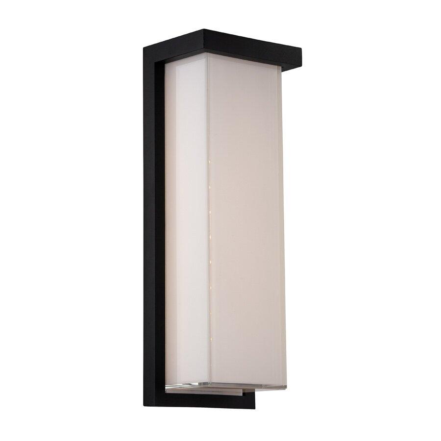 Flush mount outdoor lighting - Ledge 1 Light Outdoor 1 17ft Led Flush Mount