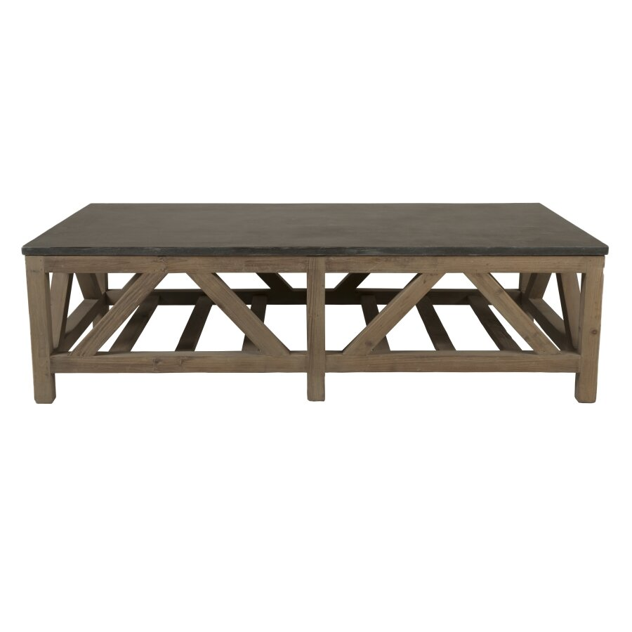 Blue Stone Coffee Table - Orient Express Furniture Blue Stone Coffee Table & Reviews Wayfair