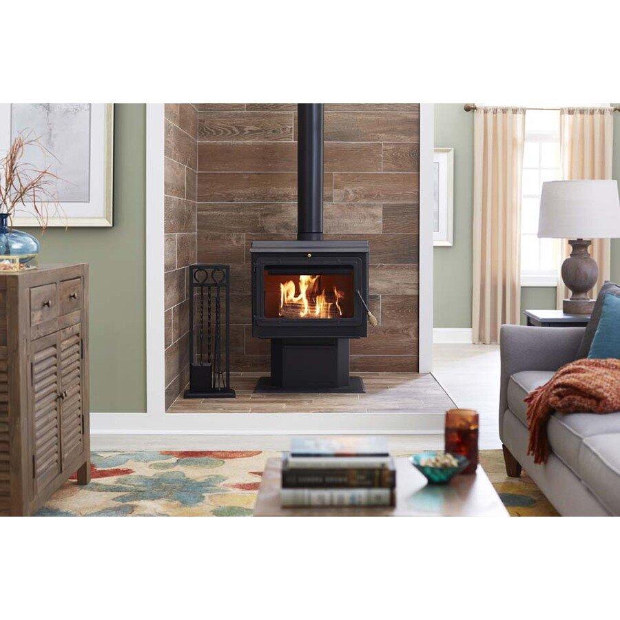 England's Stove Works 2,000 sq. ft. Direct Vent Wood Stove | Wayfair