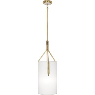 Empire 1-Light Cylinder Pendant by Robert Abbey