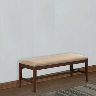 Roybal Wood Bench by Charlton Home