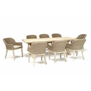 Cora 8 Seater Dining Set With Cushions By Kettler UK