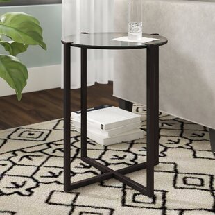 Great Price Agan End Table by Wrought Studio