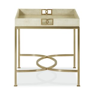 Reviews Salon End Table By Bernhardt