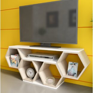 Briele Honey TV Stand For TVs Up To 55