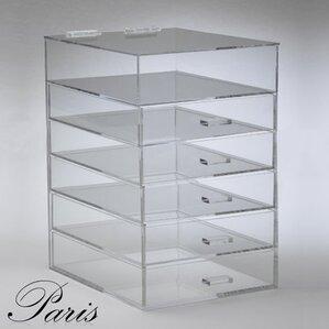paris 6 tier cosmetic organizer