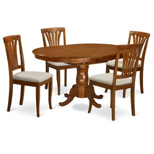 Portland 5 Piece Extendable Dining Set Herry Up