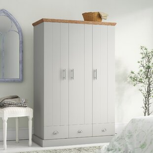 Chapin 3 Door Wardrobe By Brambly Cottage