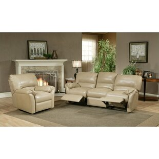 Omnia Leather Mandalay Reclining Leather Configurable Living Room Set