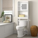 Pinecrest 23.25 W x 68.13 H Over the Toilet Storage by Three Posts