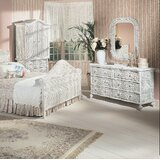 Stonge 6 Drawer Double Dresser with Mirror by August Grove®