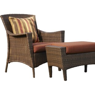 Key Biscayne Patio Chair with Cushions