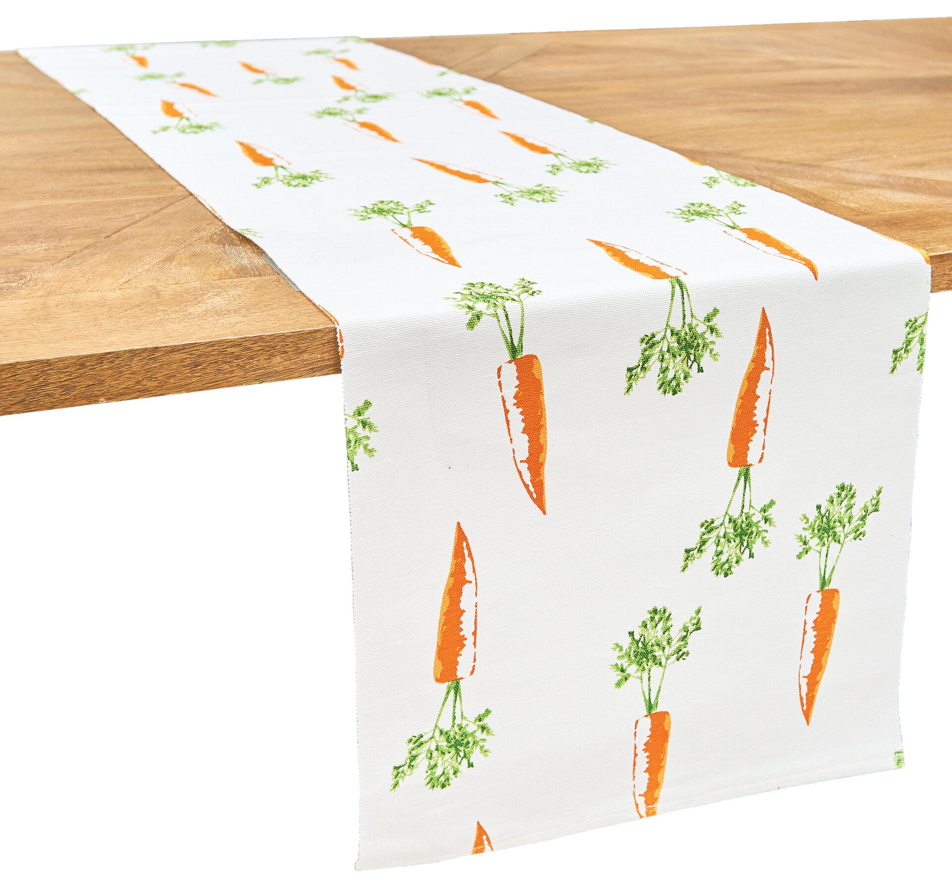 August Grove Newbold Geometric 100 Cotton Easter Table Runner Reviews Wayfair