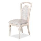 Overture Upholstered Side Chair in Champagne by Michael Amini / Jayne Seymour Living