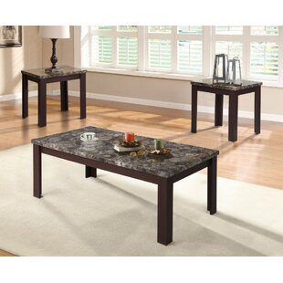 Ebern Designs Pinto Coffee and End Table Set (Set of 3)