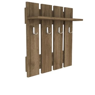 Elick Wall Mounted Coat Rack By Ebern Designs