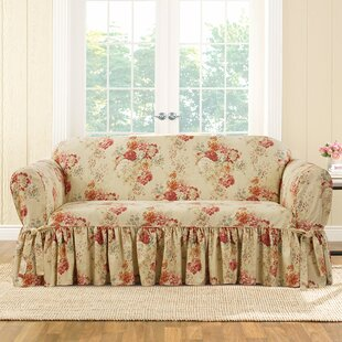 Find the perfect Ballad Box Cushion Sofa Slipcover by Sure Fit Reviews (2019) & Buyer's Guide