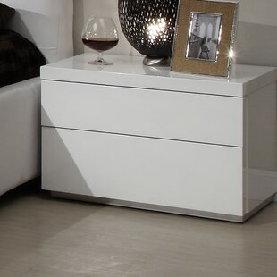 Towne 2 Drawer Nightstand by Latitude Run