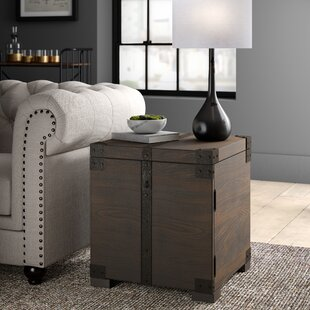 Eustace End Table with Storage by Greyleigh