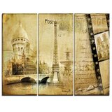 Black Paris Canvas Art You Ll Love In 2021 Wayfair