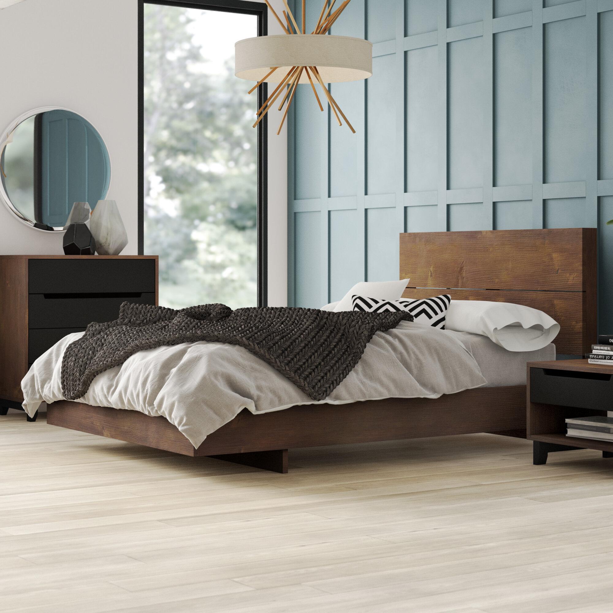 Masten Platform 4 Piece Bedroom Set