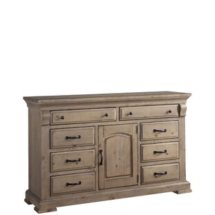 Gracie Oaks Pettit 8 Drawer Combo Dresser