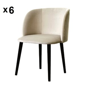 Mona Upholstered Dining Chair (Set Of 6) By BelleFierté