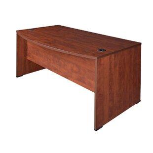Quintero Bow Front Desk