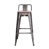 Bartz Bar & Counter Stool (Set of 4) by 17 Stories