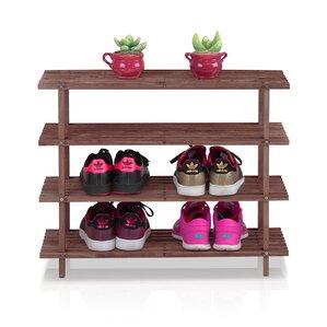 4tier shoe rack