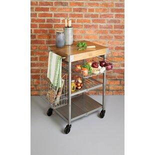 Industrial Kitchen Serving Cart By KitchenCraft