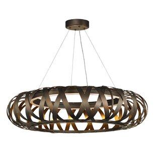 Brayden Studio Deskins Entry 1-Light LED Geometric Pendant