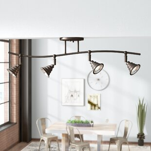 Brushton 4-Light Ceiling T..