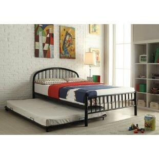 Kinner Metal Full Panel Bed by Winston Porter