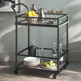Wrought Studio Lanford Kitchen Bar Cart