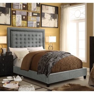 Charlton Home Rawley Upholstered Panel Bed