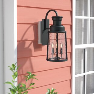 Cascades 3-Light Outdoor Wall Lantern