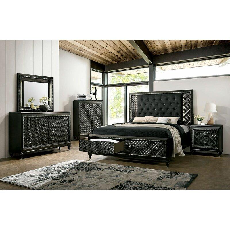 Rosdorf Park Turk Platform Configurable Bedroom Set | Wayfair