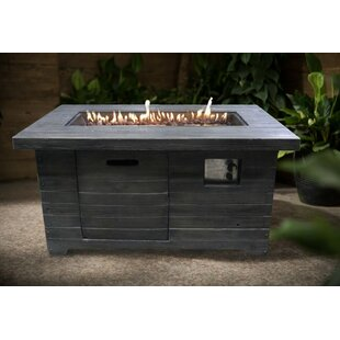 Crawford & Burke Colombo Propane Fire Pit Table