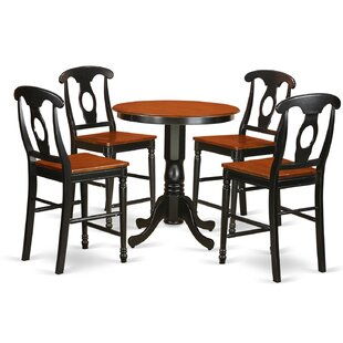 Eden 5 Piece Counter Height Pub Table Set New Design