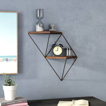 Symple Stuff Gaffney Wall Shelf Wayfair