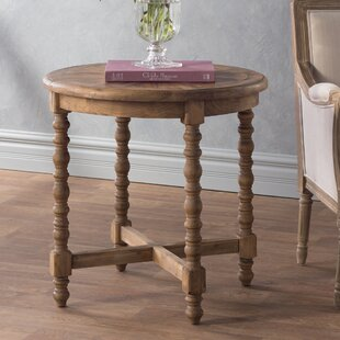 Haylie Wooden End Table By Mistana