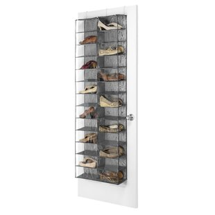 Compare prices 26 Compartment Overdoor Shoe Organizer By Rebrilliant